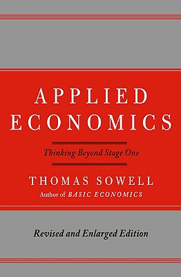 Applied Economics By Sowell, Thomas